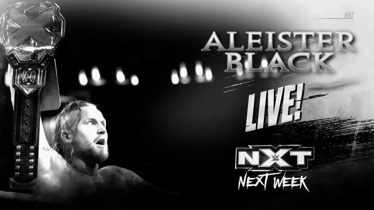 NEXT WEEK: The #NXTUniverse will hear from #NXTChampion @WWEAleister on #WWENXT, only on the award-winning @WWENetwork!