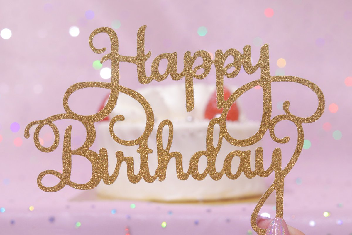 Girly Dropオシャレな無料画像 On Twitter かわいい誕生日画像