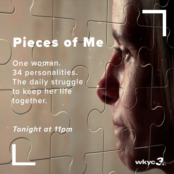 Think your life is hard to manage?  This woman has to cope with 34 different personalities within her own mind.  Don't miss her unbelievable story tonight at 11 on Channel 3 News.  https://t.co/m09TAAshtG
