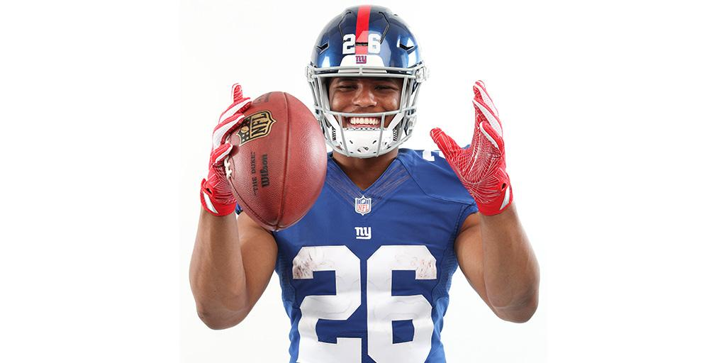 .@Gil_Brandt's 7 rookie RBs who will have the most success:  1. @saquon 2. @DhaSickest  3-7. https://t.co/bU8ffuHN1d https://t.co/AF23hc1uoG