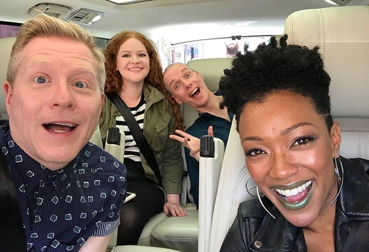 #StarTrekDiscovery Cast To Appear On #CarpoolKaraoke  https:// trekne.ws/2x8OOLd  &nbsp;  <br>http://pic.twitter.com/WVeruKcuo7
