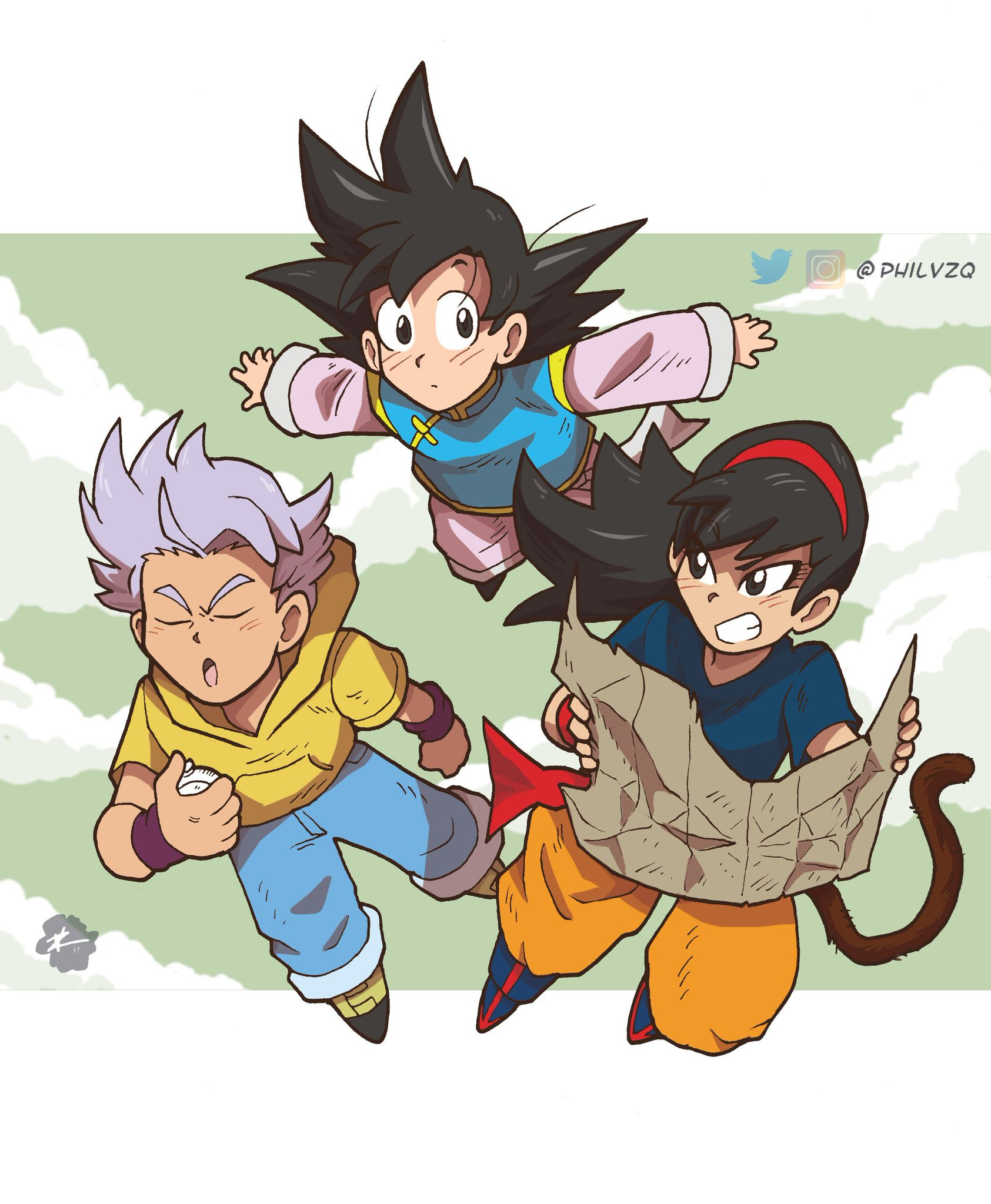 """Dragon Ball R R Manga: ️ Fear Vazquez 🕷️🎃 On Twitter: """"Caught The First Episode"""