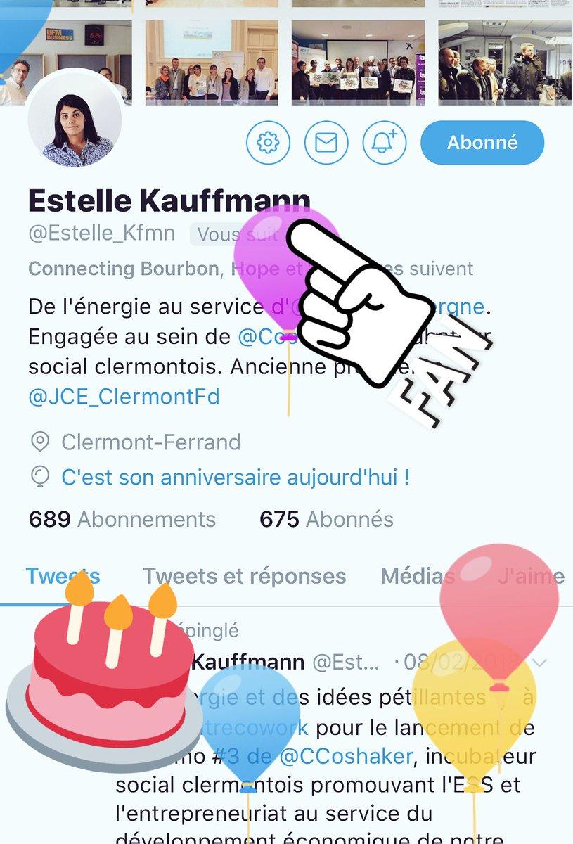 La Superette On Twitter Joyeux Anniversaire Estelle