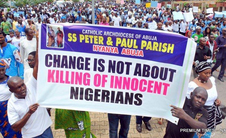 Nigerian Christians Protest Over Killings in Herdsmen Attacks https://t.co/HSemxM0qYR #Nigeria