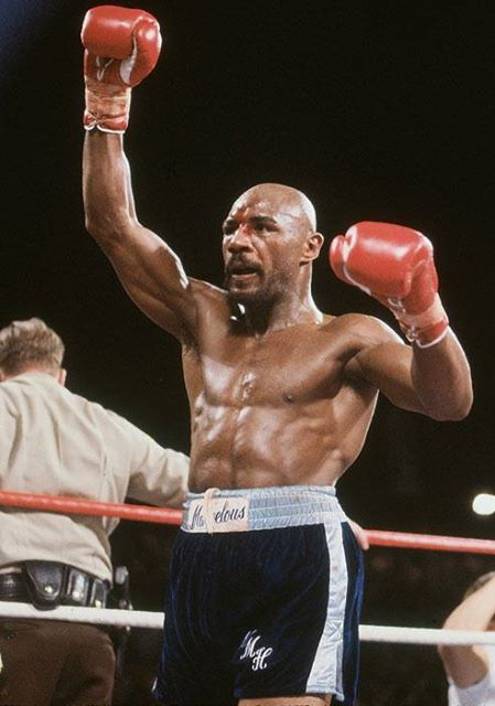 Happy Birthday to the Marvelous One. Marvin Hagler turns 64 today.