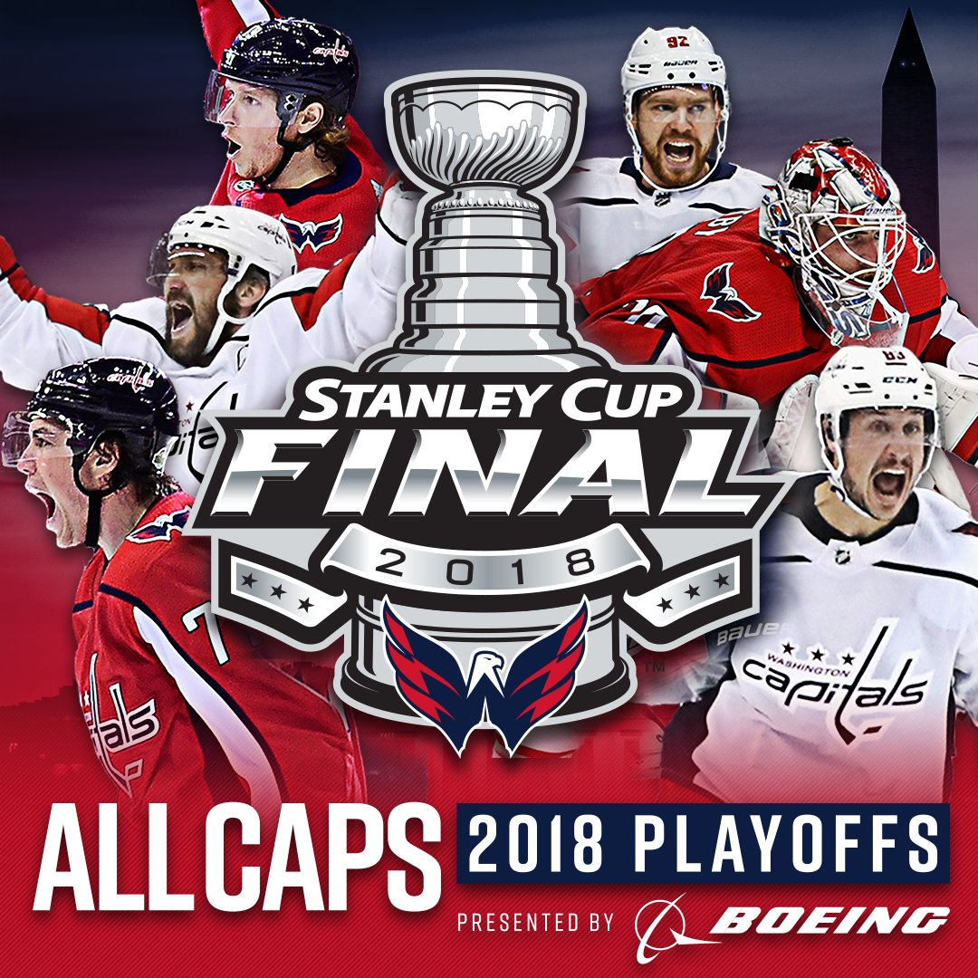 BELIEVE IT! THE WASHINGTON CAPITALS ARE GOING TO THE 2018 #STANLEYCUP FINAL! #ALLCAPS