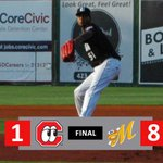 Image for the Tweet beginning: STORY: Lookouts drop 4th straight,