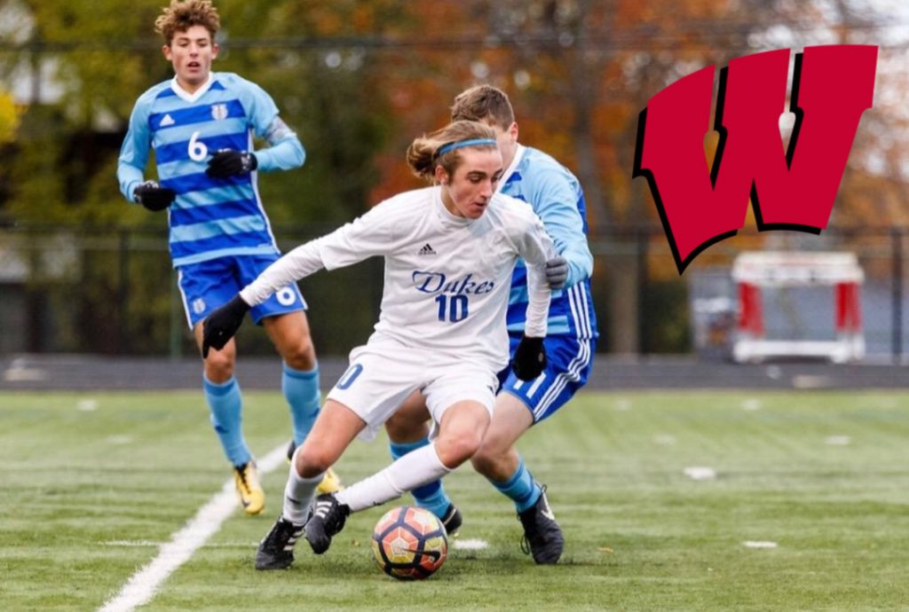 I am very excited and proud to announce that I have committed to play soccer at the University of Wisconsin-Madison. I would like to thank all of the players, coaches, friends, and family that have helped me get to where I am today. Go Bucky <br>http://pic.twitter.com/xV7ElLXncY