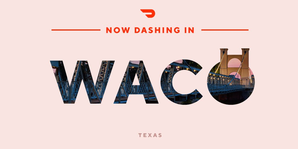 Now dashing in Waco, Jacksonville, and Hamilton! blog.doordash.com/now-dashing-in…