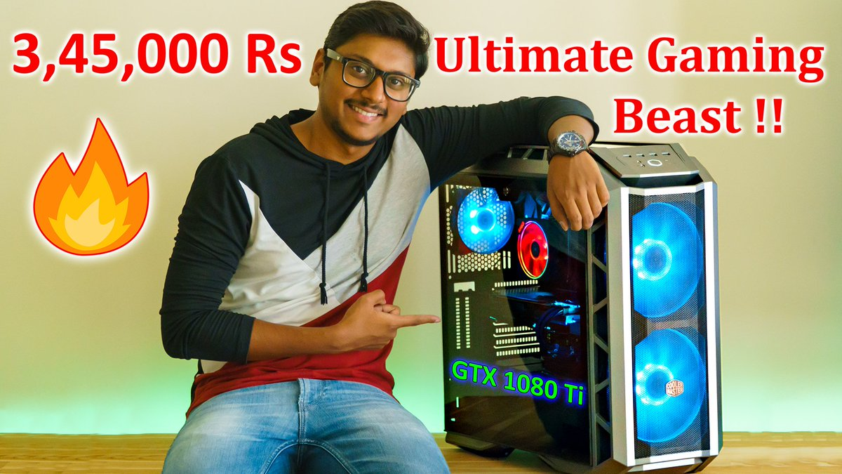 3,45,000Rs Ultimate RGB Gaming PC Build with GTX 1080 Ti...  https:// youtu.be/GLiQepWIx3k  &nbsp;  <br>http://pic.twitter.com/uKT4QyQNJD