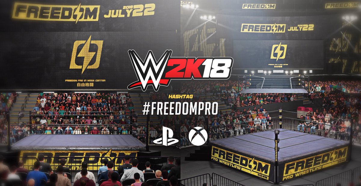 The official Freedom Pro arena has been uploaded on both consoles! Uploaded on #PS4 by @LosNeon and #XB1 by @CliqueClacks   Go grab them now!<br>http://pic.twitter.com/PrXsFsHMJv