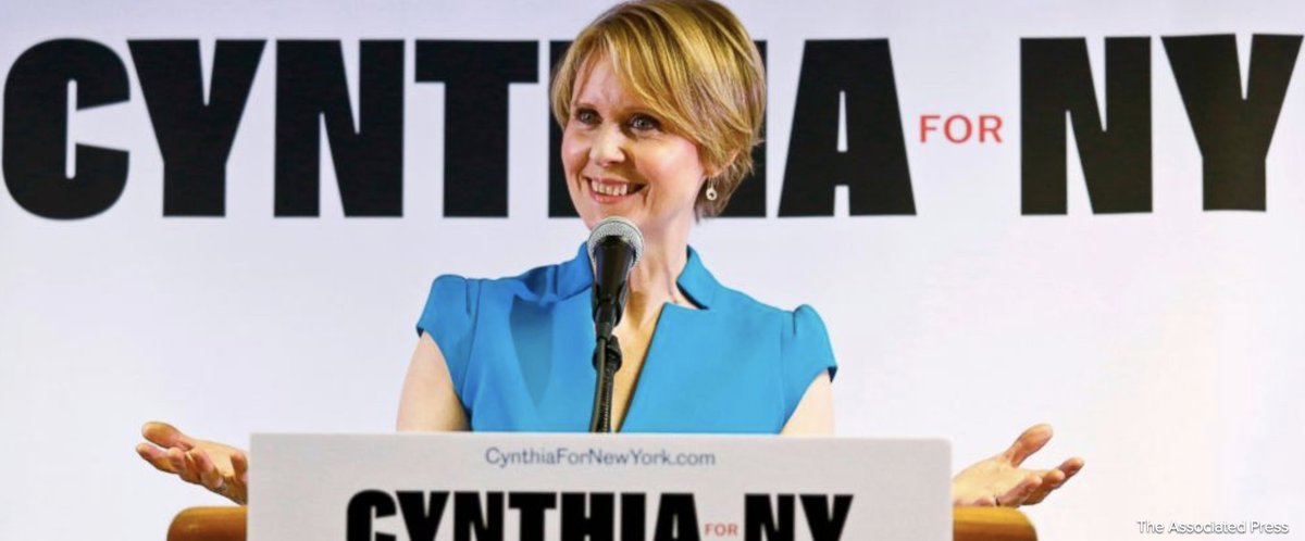 Actress-turned-politician Cynthia Nixon must gather signatures to get on Democratic primary ballot for New York governor. https://t.co/pqEFxlTruz