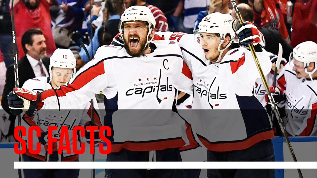 The Capitals are the first D.C. team among the Big 4 sports to reach a championship round in 20 years. #SCFacts