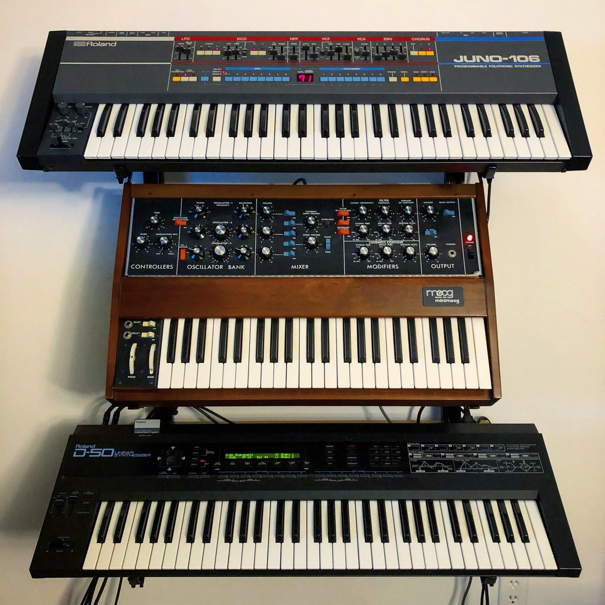 The Holy Trinity. Blessings on 2nd International Synthesizer Day.  <br>http://pic.twitter.com/eC5KUwEe5Q