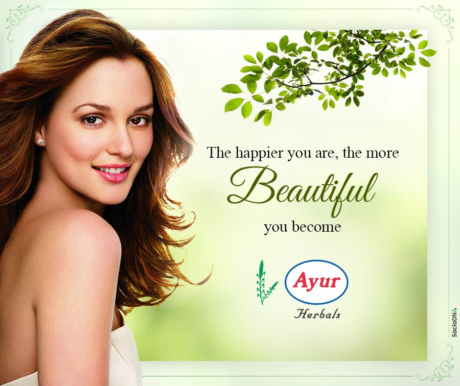 Ayur Herbals On Twitter Beauty Is When You Can Appreciate Yourself