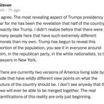"""The most revealing aspect of Trumps presidency so far for me has been the revelation that half of the country is exactly like Trump,"" writes Steven in a comment on @DouthatNYT's column, ""The Democrats' Midterm Dilemma."" https://t.co/QhuIJtN5aA"