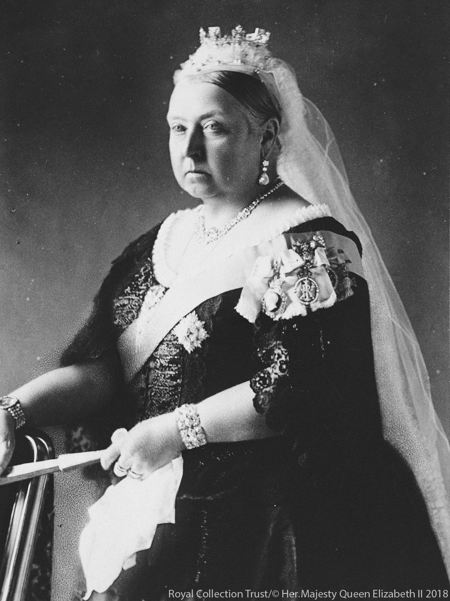 #OTD in 1819 Queen Victoria was born at Kensington Palace.  The only child of The Duke and Duchess of Kent, Princess Victoria became Queen in 1837 and reigned until her death in 1901.