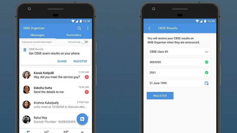 Microsoft SMS Organizer lets you check CBSE Class 10, 12 results offline; here's how https://t.co/YLsZSc6NlL