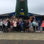 Blackgang Chine- it might be raining but we are still happy!