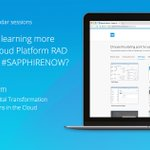 Learn how #Mendix and @sapcp customer @Andritz AG's Andreas Eibegger used the SAP Cloud Platform RAD service by Mendix to accelerate their #DigitalTransformation in the Cloud by attending his #SAPPHIRENOW session: https://t.co/fPTzp92XGQ @SAPPHIRENOW
