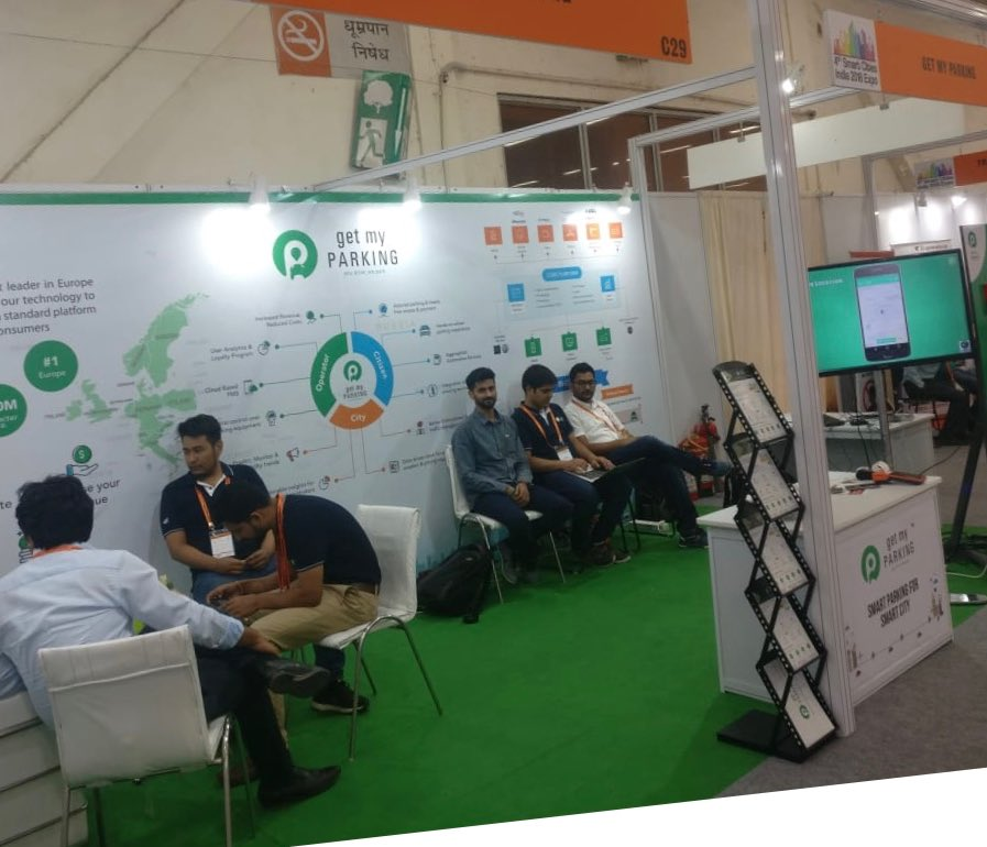 Get My Parking On Twitter 23 May Day 1 Smart Cities India Expo