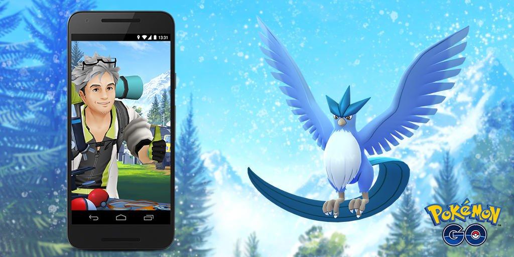 Serebii Update: New Pokémon GO field research tasks being rotated in on June 1st at 20:00 UTC. Unlocks Articuno as a Research Breakthrough reward serebii.net/index2.shtml