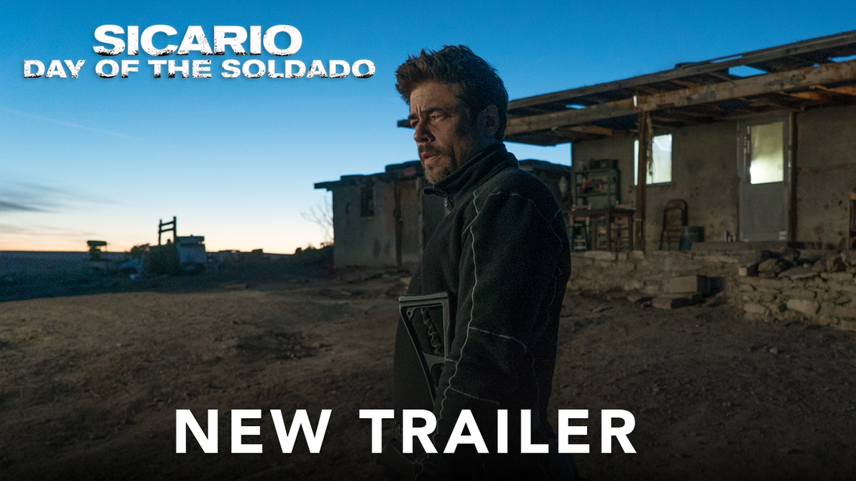 Luck doesnt live on this side of the border. New trailer for #SicarioMovie ups the action.