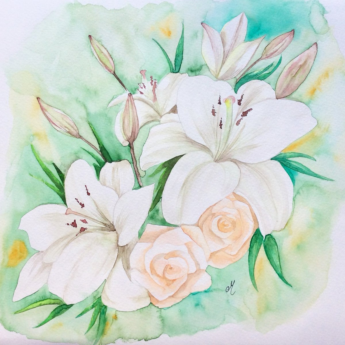 A Spring Thursday is starting...  Have a happy day everyone!   #ThursdayThought #ArtisticThursday #watercolor #art #artistsontwitter #Supportthearts #ArtLovers #etsy #artcollector    https://www. etsy.com/es/listing/497 392470 &nbsp; … <br>http://pic.twitter.com/pBuRw9UV5m