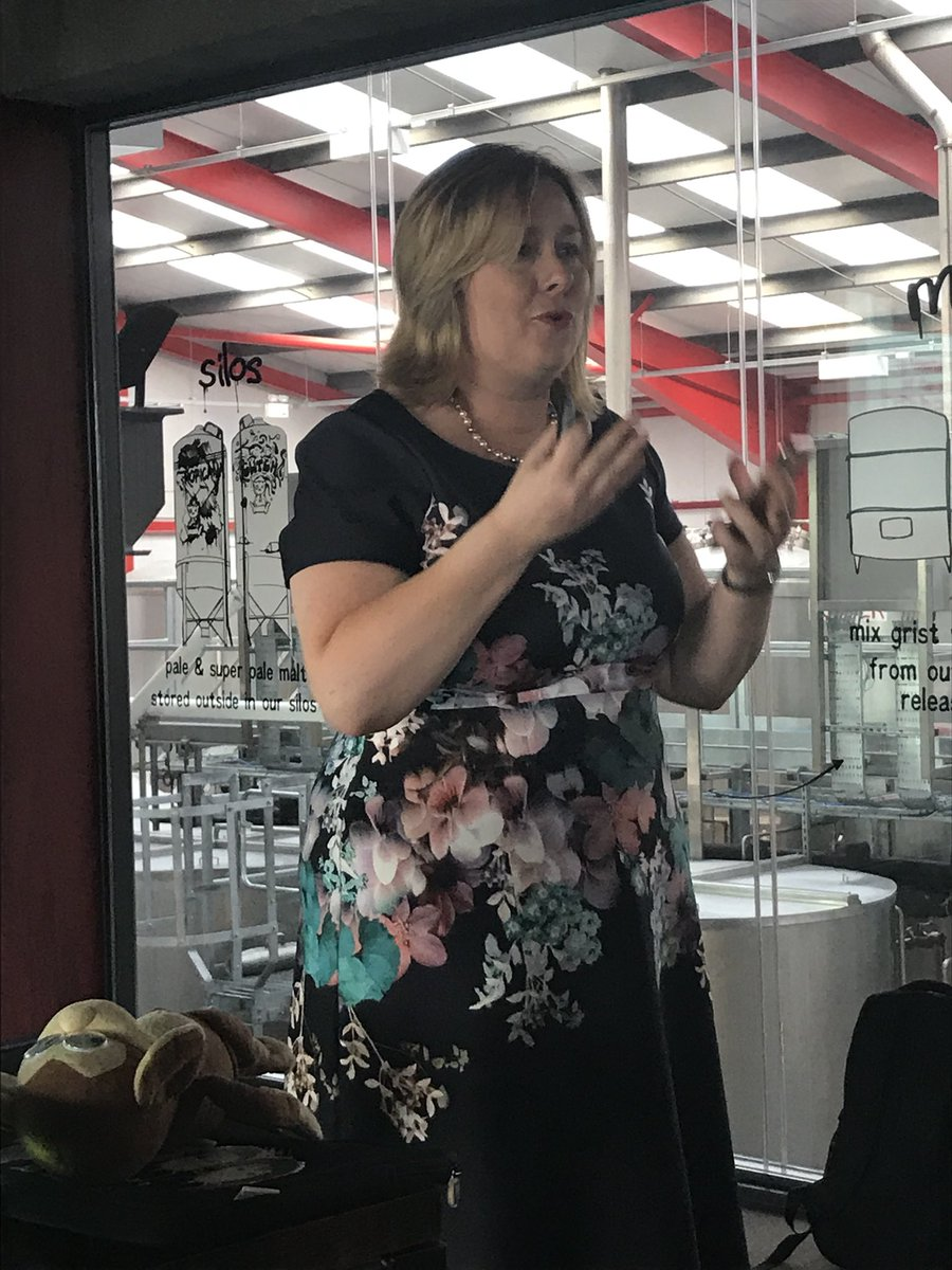 So proud to call this lady a true friend - hugely inspiring talk at Tiny Rebel @networkEDcymru  last night - such passion making Millbrook a very special place to be! Well done @LindsWatkins <br>http://pic.twitter.com/cVYpTrqLp5