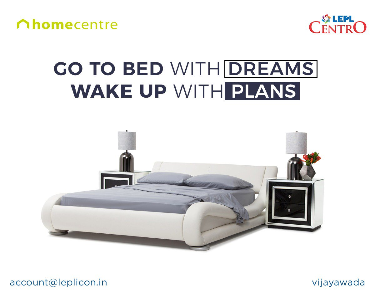 Lepl Centro On Twitter Buy Homecentreindia S Modern Furniture For Your Home And Bedroom That Suits Your Style At Leplcentro Vijayawada Bedroomdecor Homedecor Furniture Interiordesign Https T Co M09znpgbrq