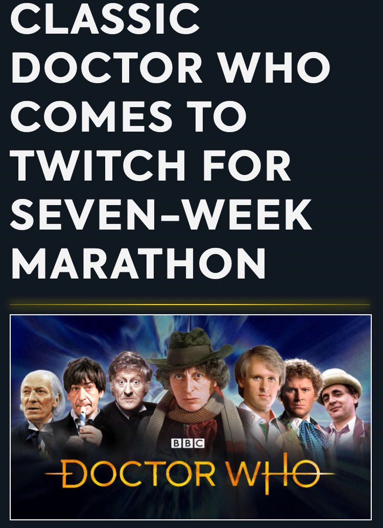 When someone says #DoctorWho will be live streamed on Twitch <br>http://pic.twitter.com/uIqMdHTZj8