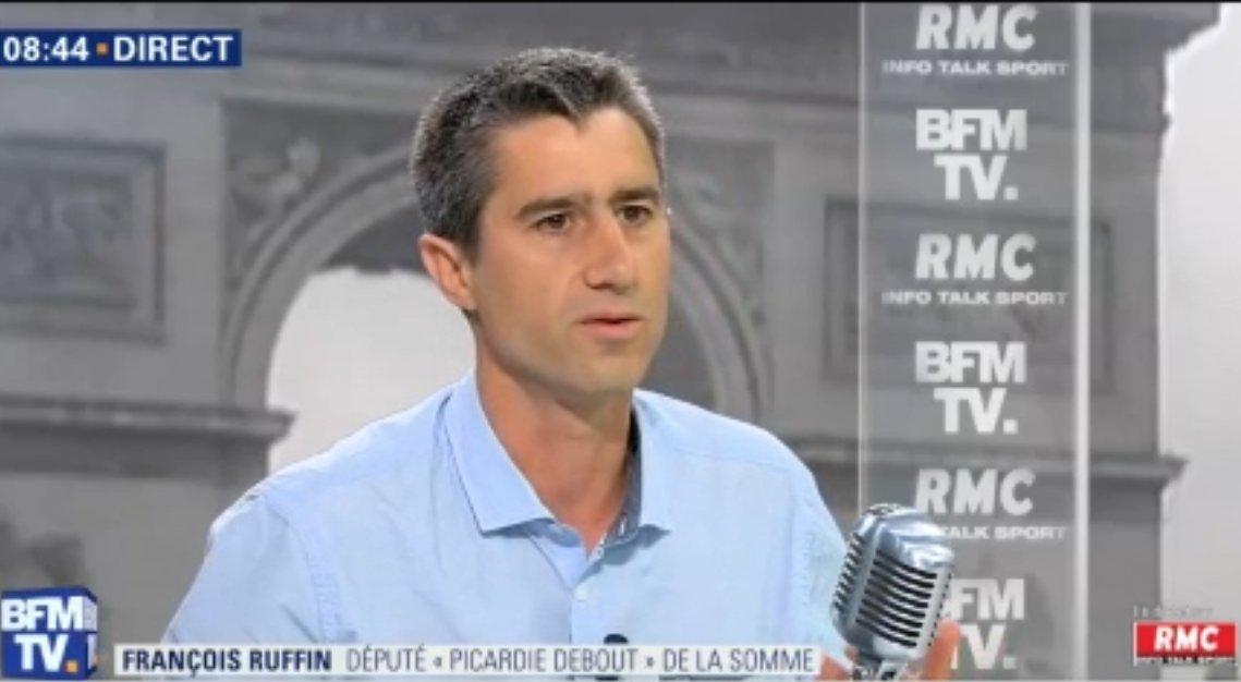 #Macron 'Il y a dans la politique de Macron, non seulement une injustice, mais en plus une arrogance de l'injustice' ➡ @Francois_Ruffin  député La France insoumise de la Somme #BourdinDirect