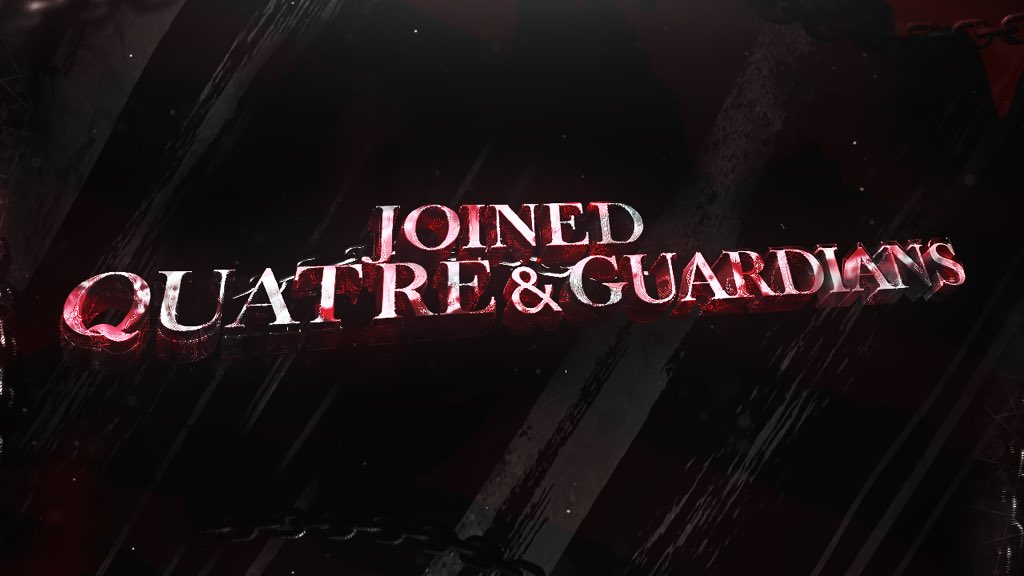 Joined Quatre&amp;Guardians                                          Today 20:00                                          Editor: BERY                                        Thumbnail: Taiga <br>http://pic.twitter.com/nKwza0o0K8