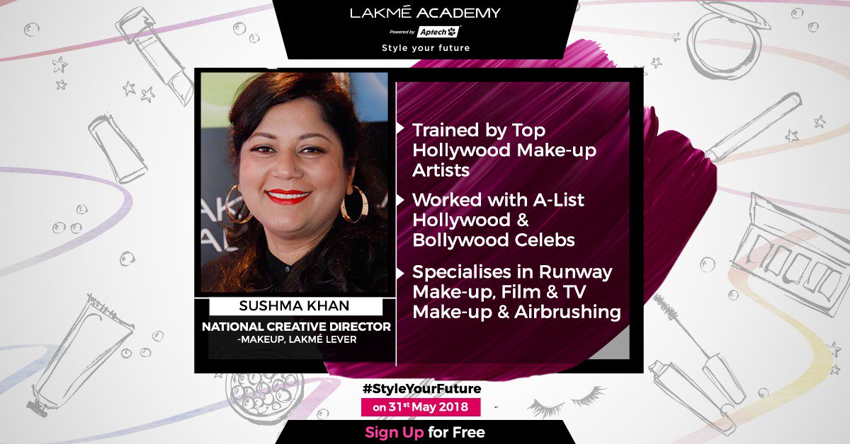 Backstage Superstar Since Years Witness Her Magic Live At Styleyourfuture By Lakméacademypoweredbyaptech On 31st May St