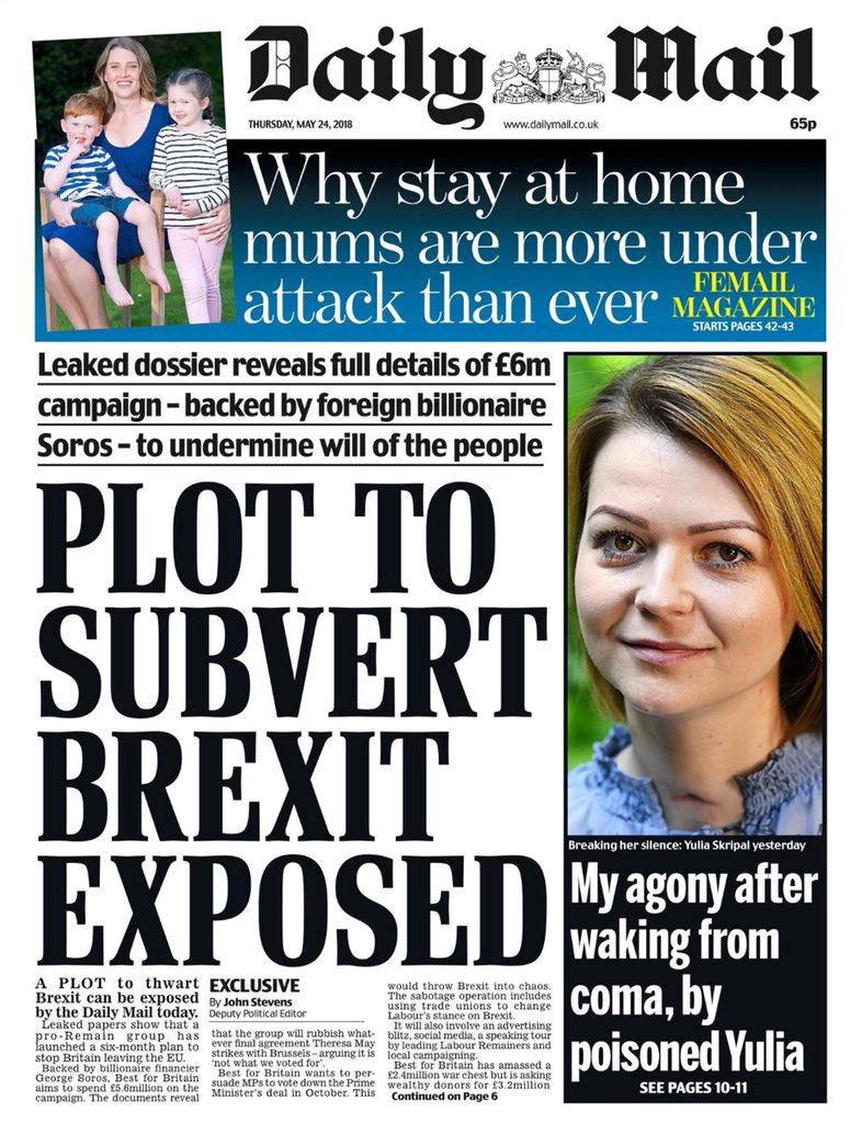 Exposed? Really  Most of us have been screaming  #StopBrexit at the top of our voices. Surprised you hadn't noticed before. Subvert? I think you meant..  Protect from.  Brexit IS subversion! #BestForBritain  #FBPE<br>http://pic.twitter.com/iJfDZSW57M
