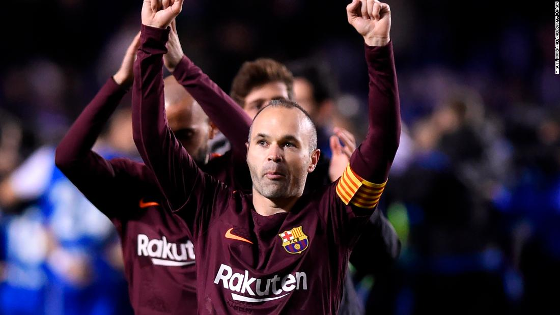 From Barcelona to... Japan? Andres Iniesta has dropped a big hint on social media that he's moving to Japan to join J1 League team Vissel Kobe https://t.co/VvMhozmwS3 via @cnnsport