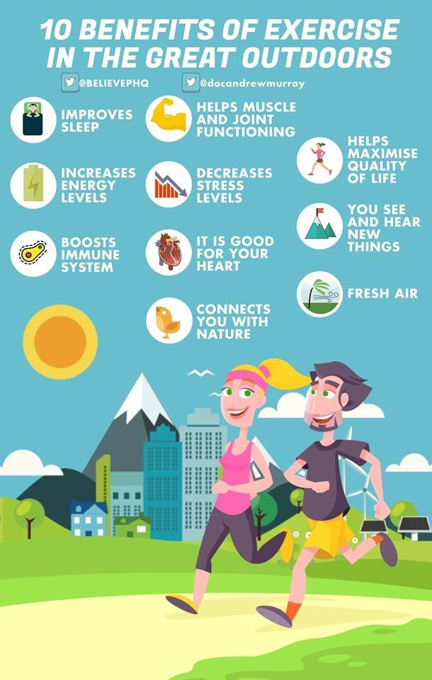 10 amazing benefits of exercising outdoors by @BelievePHQ<br>http://pic.twitter.com/LRbPcVfBlC