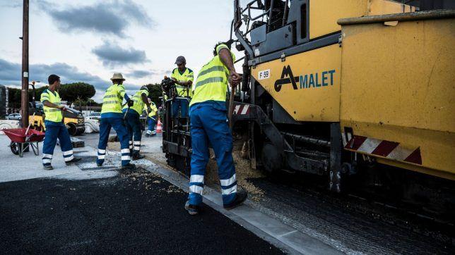 Travaux publics: nouvel essai transformé pour le procédé #Lumiroute   #TP https://t.co/whwUkov6Av