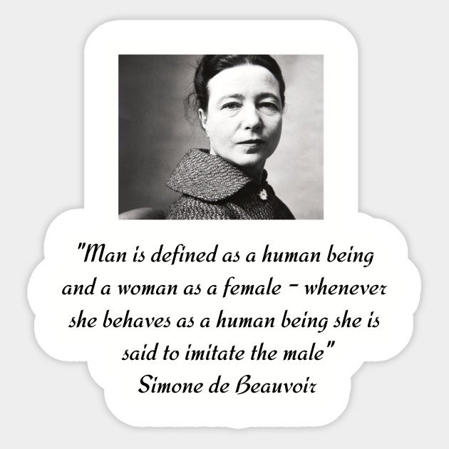 #OTD in 1949, French writer, philosopher &amp; activist Simone de Beauvoir published The Second Sex. This major work of feminist philosophy concerns the lived experience of women throughout history and is regarded as the starting point of second-wave feminism.  http://www. nytimes.com/2010/05/30/boo ks/excerpt-introduction-second-sex.html &nbsp; …  <br>http://pic.twitter.com/fmK9PjPfSc