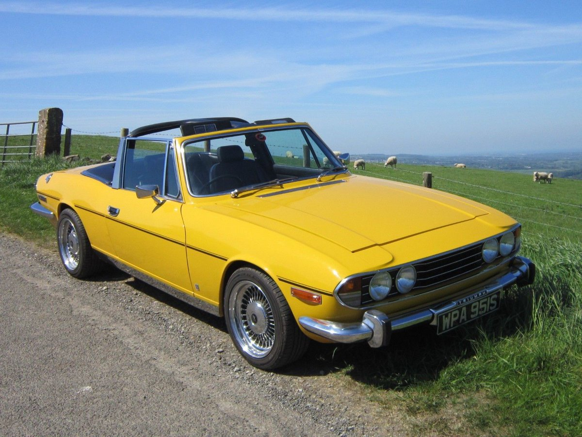 Uk Classic Cars On Twitter Ebay Triumph Stag 3 5 V8 Fully Restored Https T Co An2s4cmtcp