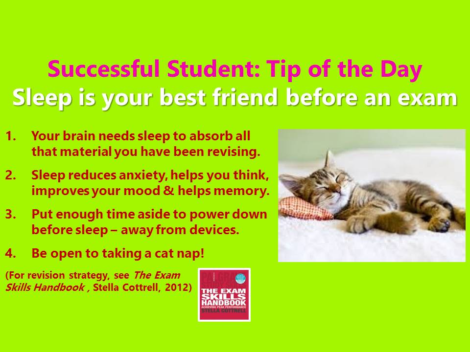 #SuccessfulStudent Sleep is yr brain&#39;s best friend before an exam! #exams #revision #RevisionTip #amrevising #study #Students #student #studentlife #studying #ThursdayMotivation #StudyTip #unilife #uni<br>http://pic.twitter.com/ksh6uNXBtO
