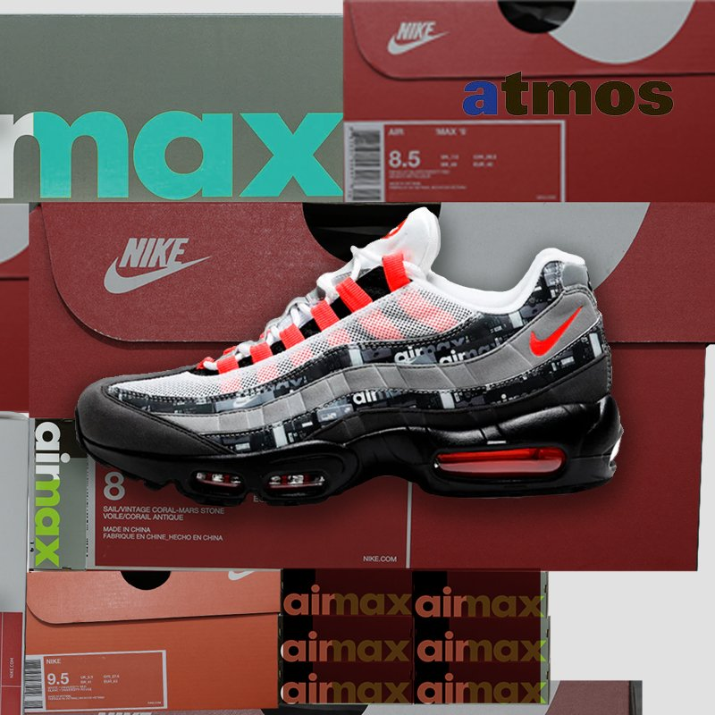 bdd87c9a7b KicksCrew.com Nike Air Max 95 Print - We Love Nike - Orange (AQ0926-002)  USD 230 HKD 1810 Pre Order Now order link: ...