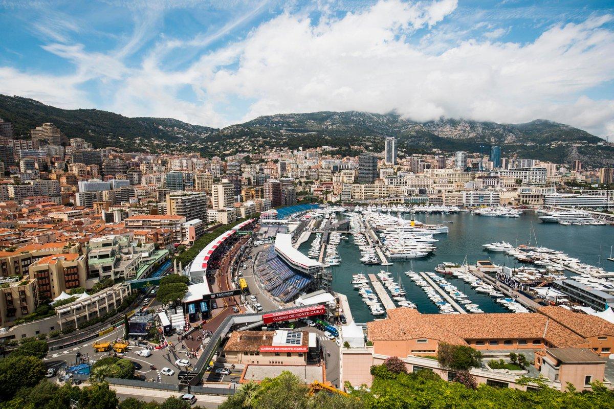 30 MINUTES TO FP1 ⏰  The #MonacoGP 'weekend' gets underway soon 💪