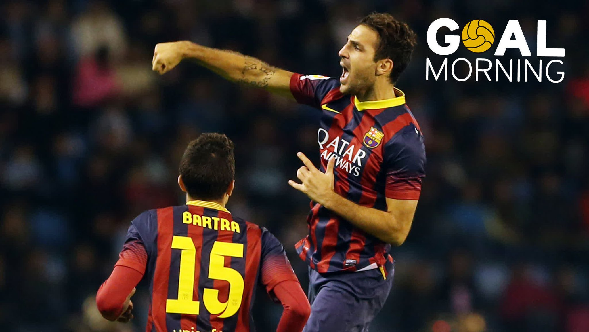 G⚽️AL MORNING!!! �� @cesc4official �� �� 2013 https://t.co/GwUqfiXh2d
