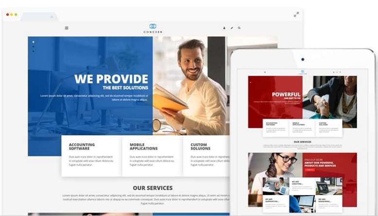 Build a stunning Joomla website today with a professional #Joomla template.  Easy to use &amp; customise  Mobile friendly  Lot of built-in features  Web start installer included  Only €29  https://www. energizethemes.com  &nbsp;  <br>http://pic.twitter.com/tGL1rSrQbr