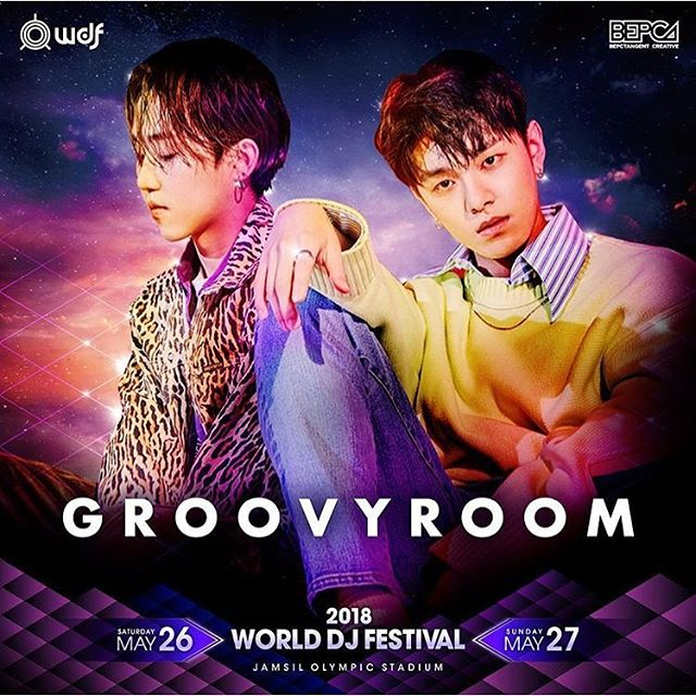 HAON and Sik-K will perform with Groovyroom at 2018 World DJ Festival on May 27th <br>http://pic.twitter.com/o4MPF7BUlv