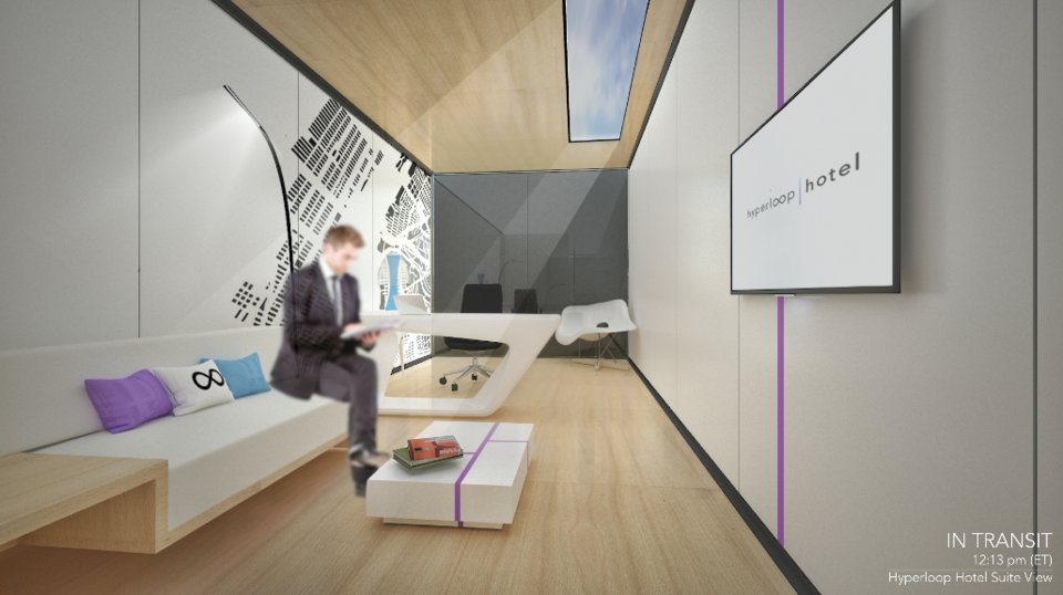 Interesting concept, similar to new airplanes interior design... Perhaps less efficient but also interesting was Brandan Siebrecht, a graduate architecture student at the University of Nevada, proposal of #hyperloop Hotel #innovation  http://www. businessinsider.com/hyperloop-hote l-radical-innovation-2017-6 &nbsp; … <br>http://pic.twitter.com/TtMKvd6XS5