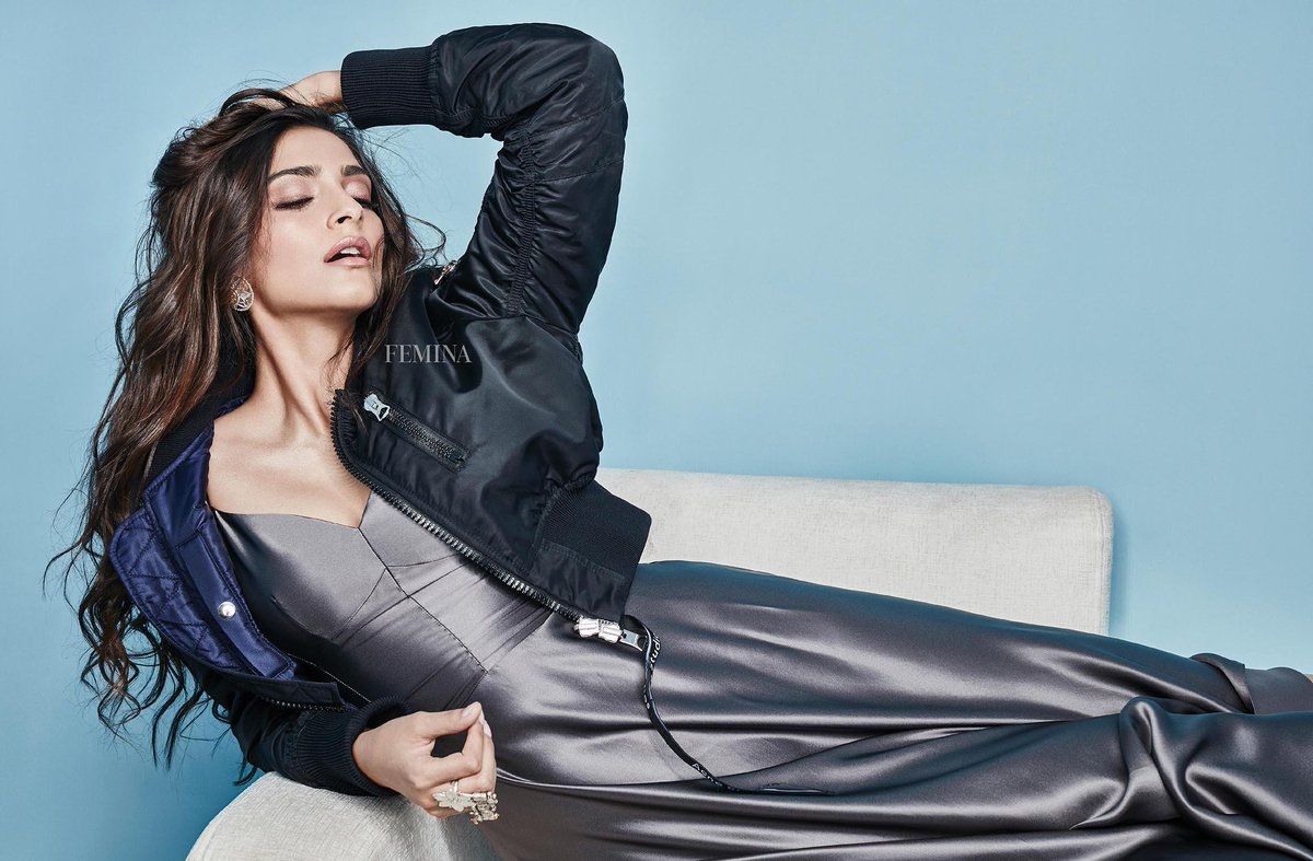 'The only real elegance is in the mind; if you've got that, the rest really comes from it.' —Diana Vreeland For @FeminaIndia  👗: @Dior  Jacket: @acnestudios @mytheresa.com 👠: @LouboutinWorld  💎: Lara Morakhia 📸: Arjun Mark