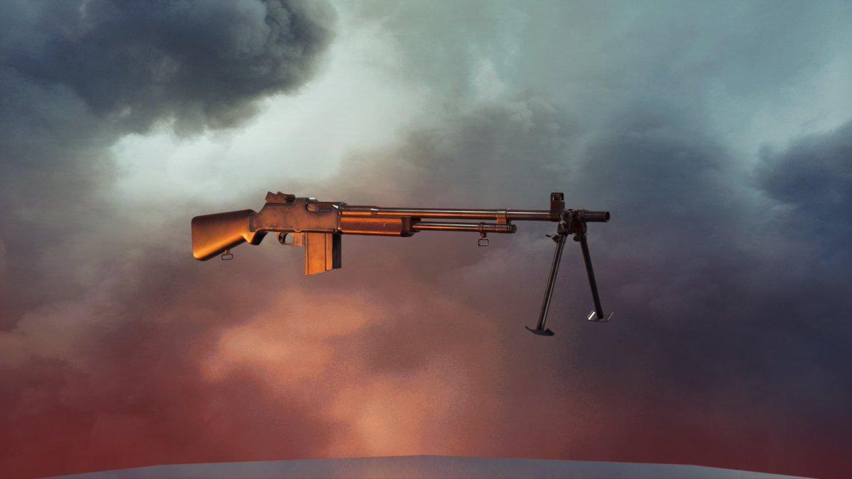 Yo peeps! When you pre-order #BattlefieldV, you automatically unlock 5(!) guns for #Battlefield1! BAR M1918A2, Fedorov-Degtyarev, M1911A1, M1919 SMG and Mosin-Nagant M38 Carbine. How cool is that?! <br>http://pic.twitter.com/7UctizNdUG