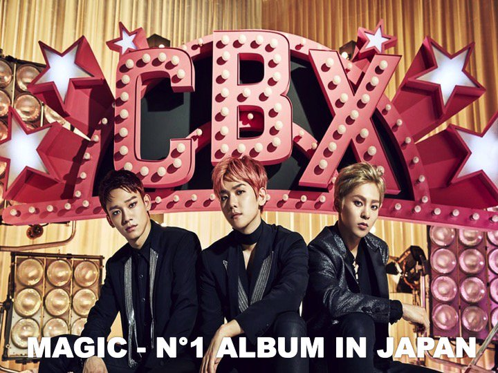 #EXOCBX are N°1 this week on the Oricon weekly Album Chart in Japan with their 1st full-length Japanese Album #MAGIC!👏1⃣💿🇯🇵🕺🕺🕺🔥🌟 https://t.co/oBNDphnhBl
